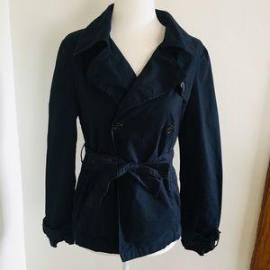 Love Tree Small Navy Jacket Cotton Size S Blue